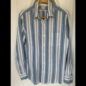 Irish Linen Shirt by J. Crew